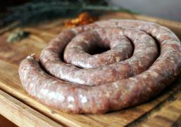Колбаса домашняя готовая 500 гр.