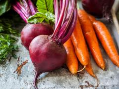 Набор для винегрета отварные (свекла, морковь, картофель) 1 кг