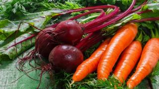 Набор для винегрета отварные (свекла, морковь, картофель, капуста квашенная соленый огурец) 1 кг