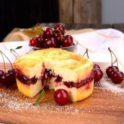 Запеканка творожная с вишней и ягодами 500 гр